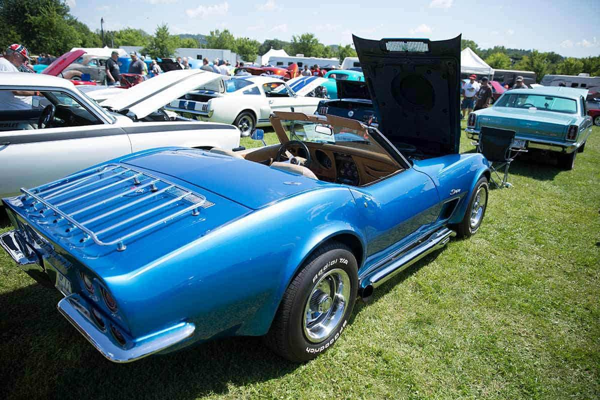Cruisin\' for the Arts Car Show in Wisconsin - A4A Aug 9-11, 2018